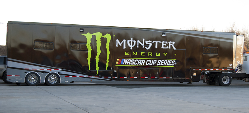 Monster Energy NASCAR Cup Series 2017 Hauler